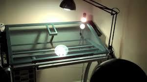 new desk setup studio designs glass top futura drafting table you