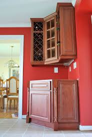 Kitchen Cabinet Wine Racks Wall Mounted Corner Wine Rack For Kitchen With Glass Door Cabinet