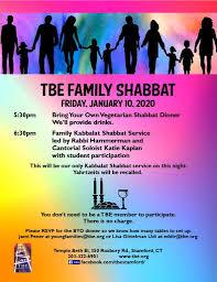 Human By Design Stamford Ct Family Shabbat Temple Beth El