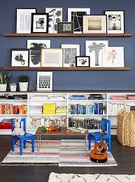 a pair of shallow shelves offer up an easy casual way to show off your on wall art gallery ideas with 8 artful ideas for gallery wall arrangements