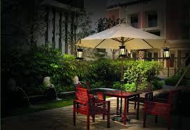 Paver Patio As Outdoor Patio Furniture With Fancy Solar Lights For Patio Lighting Solar