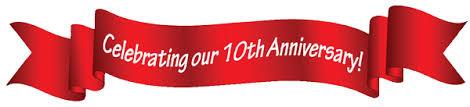 Anniversary Ribbon Cmat 10th Anniversary Social Fundraiser Canadian Medical