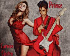 Image result for carmen electra and prince