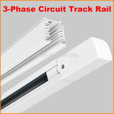 track lighting rail. DHL 1M Lighting Track 3-Phase 3 Circuit 4 Wires Aluminium Light Rail System