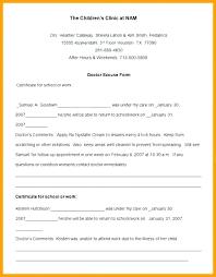 Fake Doctors Note Template Uk Hospital Sick Note Meltfm Co