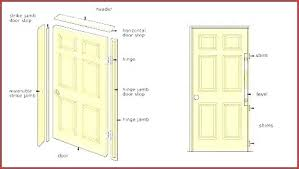 replacing exterior door frame installing an how to replace and hanging video exterio