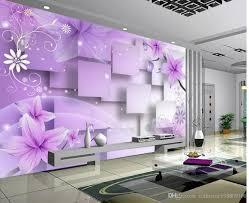 Purple Flower Wallpaper For Bedroom Purple Flower Wallpaper Online Purple Flower Wallpaper For