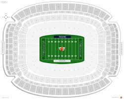 Reliant Seating Chart Football Houston Texans Seating Guide Nrg Stadium Rateyourseats Com