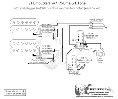 humbucker coil tap wiring diagram humbucker image wiring 3 humbuckers w coil split the gear page on humbucker coil tap wiring diagram
