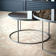 gold glass nesting tables round nesting coffee table round nesting coffee table bronze image 1 gold