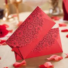 Small Picture Lase Cut Flower Red Envelope 2015 New Arrival Wedding Gift