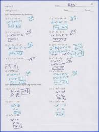factoring and solving quadratic equations worksheet worksheets for