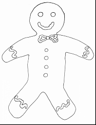 Gingerbread Man Template Gingerbread Man Drawing At GetDrawings Free For Personal Use 23