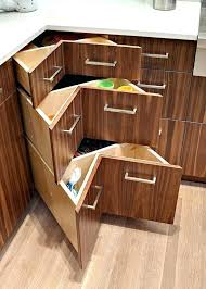 corner kitchen cupboard solutions lovely under cabinet storage storage cabinets under counter storage bins