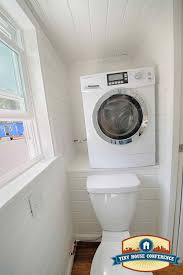 tiny house washer dryer combo. Plain House A Ventless Washer Dryer Combo In A Tiny House Bathroom At The  Tinyhouseconferencecom On Tiny House Washer Dryer Combo L