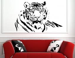 bengal tiger large wall sticker