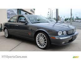 2004 Jaguar XJ XJR in Dark Blue Grey Pearl Metallic photo #5 ...