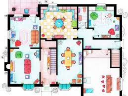 TV Shows Floor Plans That Take More Than 30 Hours To Create Tv House Floor Plans