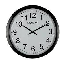 office wall clock. Image Is Loading Large-Bold-Classic-Office-Wall-Clock-Non-Ticking- Office Wall Clock A