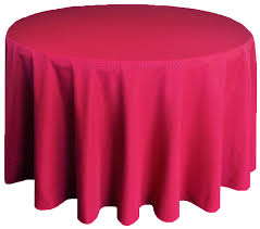 90 round polyester tablecloth apple red 53108 1pc pk