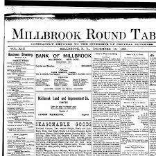 millbrook round table millbrook n y 1892 190 december 16 1904 page 1 image 1 nys historic newspapers