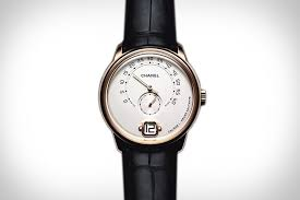 chanel debuts first watch for men mojeh men