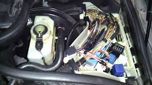 e46 relay box location under hood