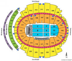 Msg Seating Chart Concert Billy Joel 62 Conclusive Madison Square Garden Concert Seating Views