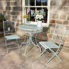 outdoor chairs and tables. Summerhouse Blue Bistro Table And Chairs Set Outdoor Tables R