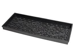 Decorative Boot Tray BirdRock Home Rubber Boot Tray 100 inch Decorative Boot Tray 37