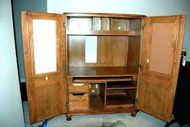 corner armoire computer desk large size of furniture ikea