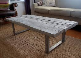 concrete and wood furniture. Coffee Table, Reclaimed Wood Cast Concrete Table Picnic Tables: Creating And Furniture
