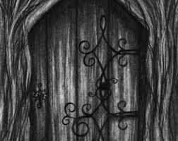 open door pencil drawing. Pencil Drawing Print - Open A New Door Day 279