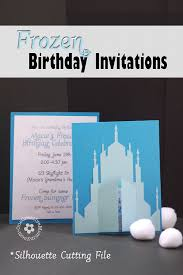 Design Party Invitations Frozen Birthday Invitations 2 Designs Onecreativemommy Com