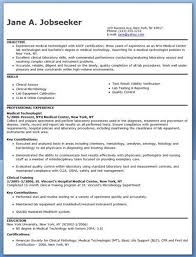 Medical Technology Example Medical Technologist Resume Nmdnconference Example Resume