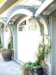 trellis over garage door pergola easy plans trellis over garage doors