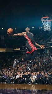 hf00-lebron-james-dunk-nba-sports-art ...