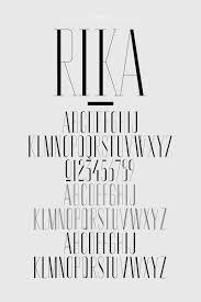 Fashion Design Fonts Rika Magazine Typography Magazine Magazine Fonts Typography