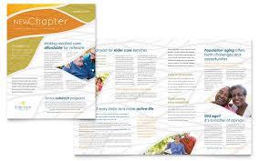Microsoft Office Publisher Newsletter Templates Assisted Living Newsletter Template Design