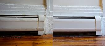 how to paint metal baseboard heater covers tutorial