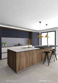 Small Picture Modern Kitchen Design Minosa Striking With Rich Wood Copper E To Ideas