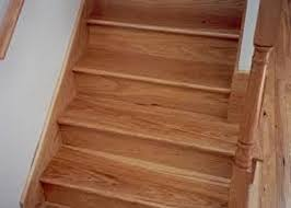 install a bamboo flooring for stair treads