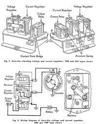 Ford Voltage Regulator To Generator Wiring Diagram AC Generator Wiring Diagram