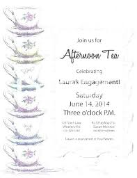 tea party invitations free template free party invitation templates for word agarvain org