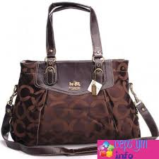 Cepsym Coffee Coach Madeline East West Large Satchels