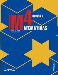 9788466771702: Matemáticas, 4 ESO, Opción B (Andalucía)