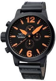 orange watches men s watches haemmer watches haemmer hc 07