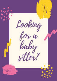 Customize 57 Babysitting Flyer Templates Online Canva