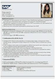 Sap Fico Sample Resume 25 New Sample Resume For Sap Fico Consultant Images Arkroseprimary Org