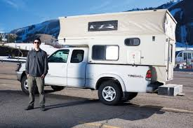 This Pop-Up Truck Camper Is A Snowboarder's Paradise - RVshare.com